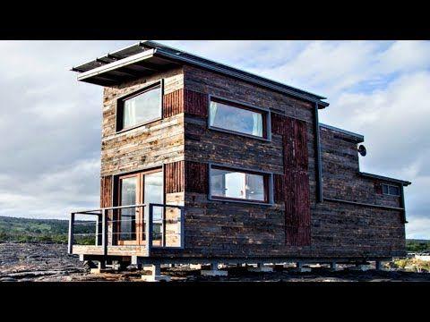 sustainable off grid solar powered tiny home farmhouse rustic vibe rh pinterest com au