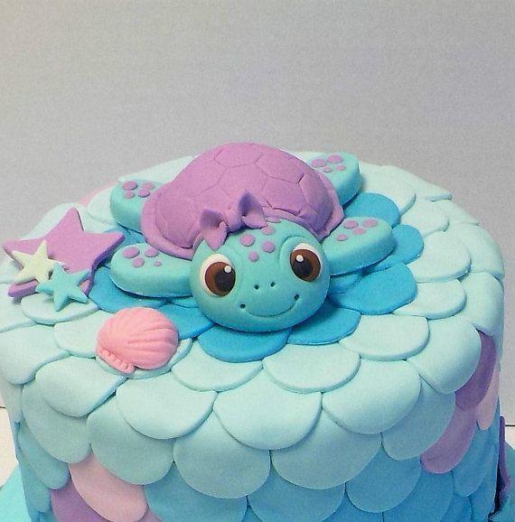 Fondant Sea Turtle Cake Topper 1. Geburtstag Babyparty Blume oder Bogen Option unter dem Meer 3,5 Zoll   - Torten -   #Babyparty #Blume #Bogen #cake #dem #fondant #Geburtstag #Meer #oder #option #Sea #Topper #Torten #Turtle #unter #Zoll #seyfooksck
