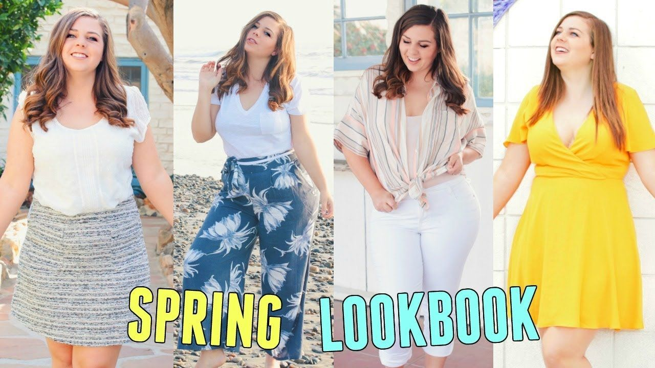0d405e0a8abd4 CURVY SPRING LOOKBOOK 2018! Spring Outfit Ideas For Curvy Girls! - YouTube