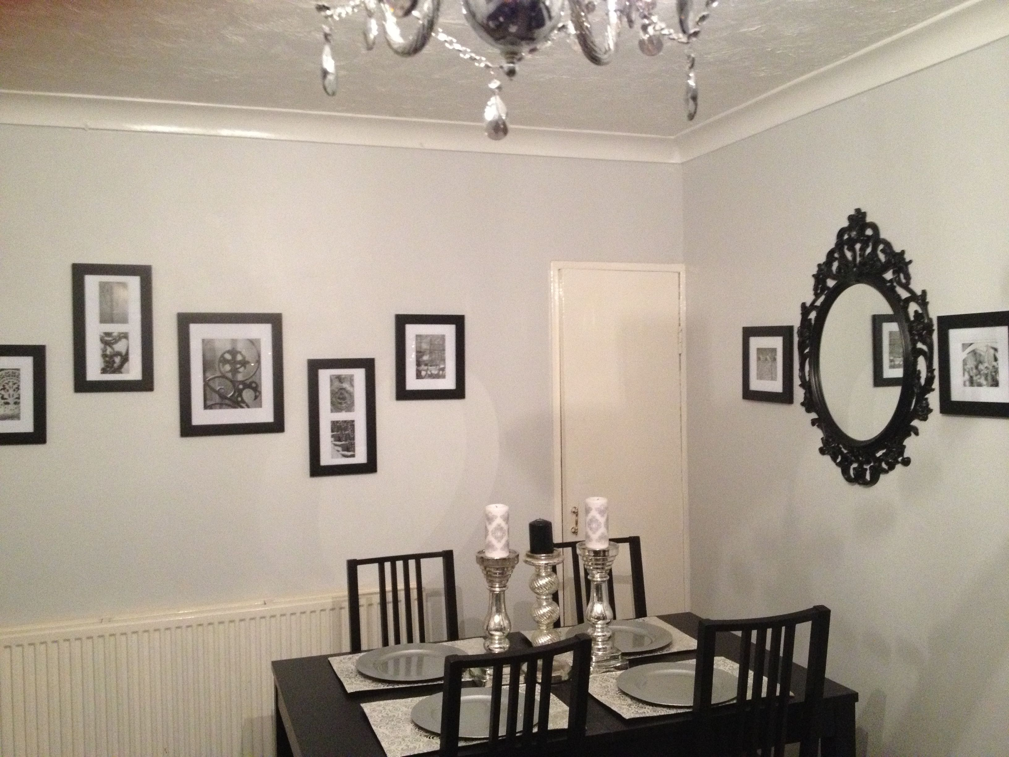 Living Room Wall Gallery Ikea Ung Drill Mirror And Frames Part 97