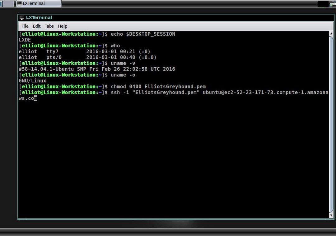 Elliot Linux Desktop from the T V  show Mr  Robot  #linux #sysadmin