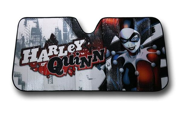 Harley Quinn Car Sunshade