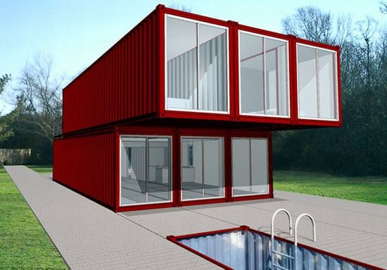 Homes Made From Containers beautiful houses made with cargo containers! ~ amazing world