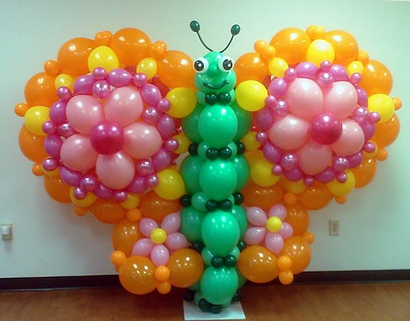 Balloon Butterfly By Lisa Swiger Of Blooming Balloons