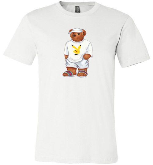 f200d1ae LIFE PLAYBOY PIKACHU BEAR Unisex T-Shirt | TEEFLAT | Gucci shirts ...