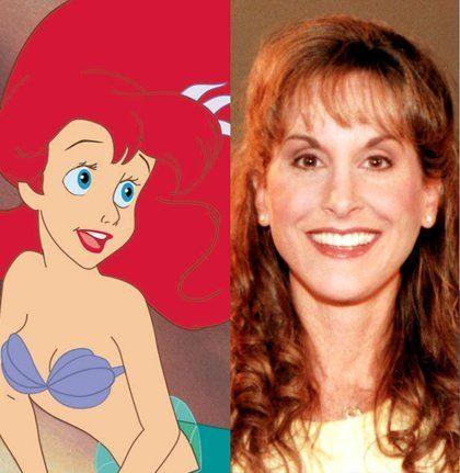 Jodi Benson voice of Ariel 1989 The Little Mermaid ...