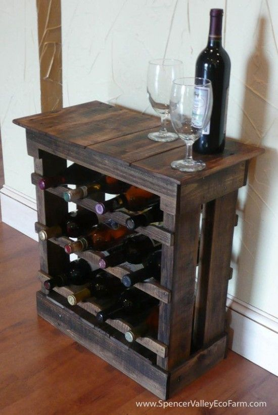 How To Make A Pallet Wine Rack For Your Home Woodworking