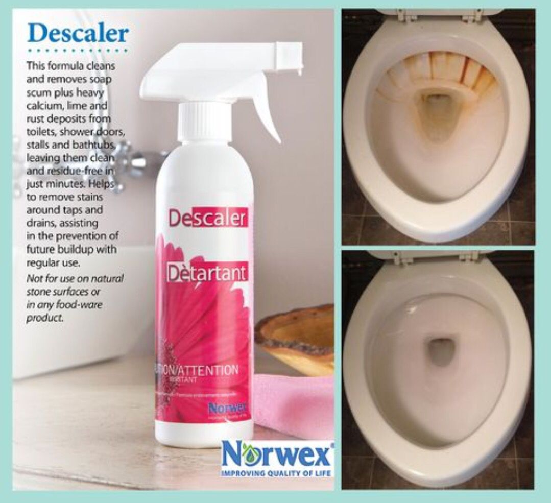 Norwex Descaler Vs Rust Before And After Norwex