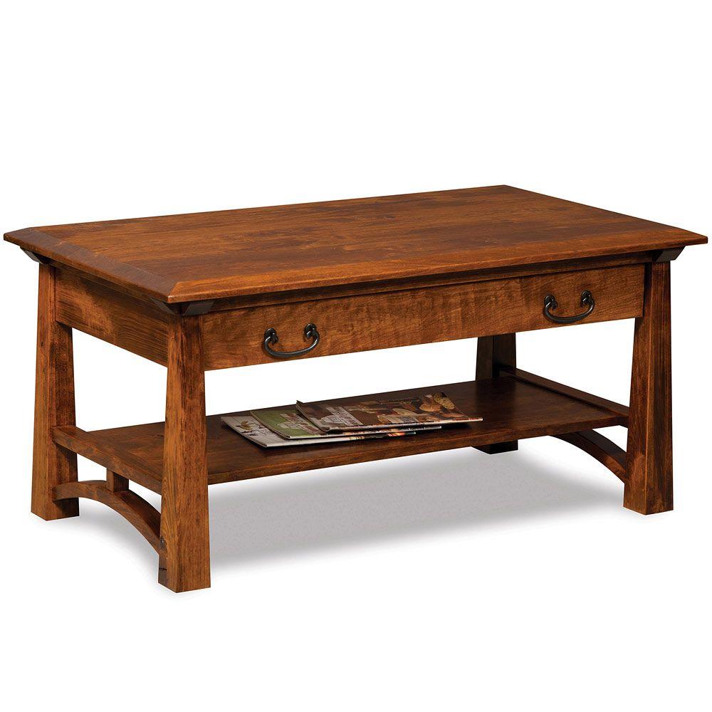 Artesa Amish Coffee Table In 2020 Amish Furniture Coffee Table