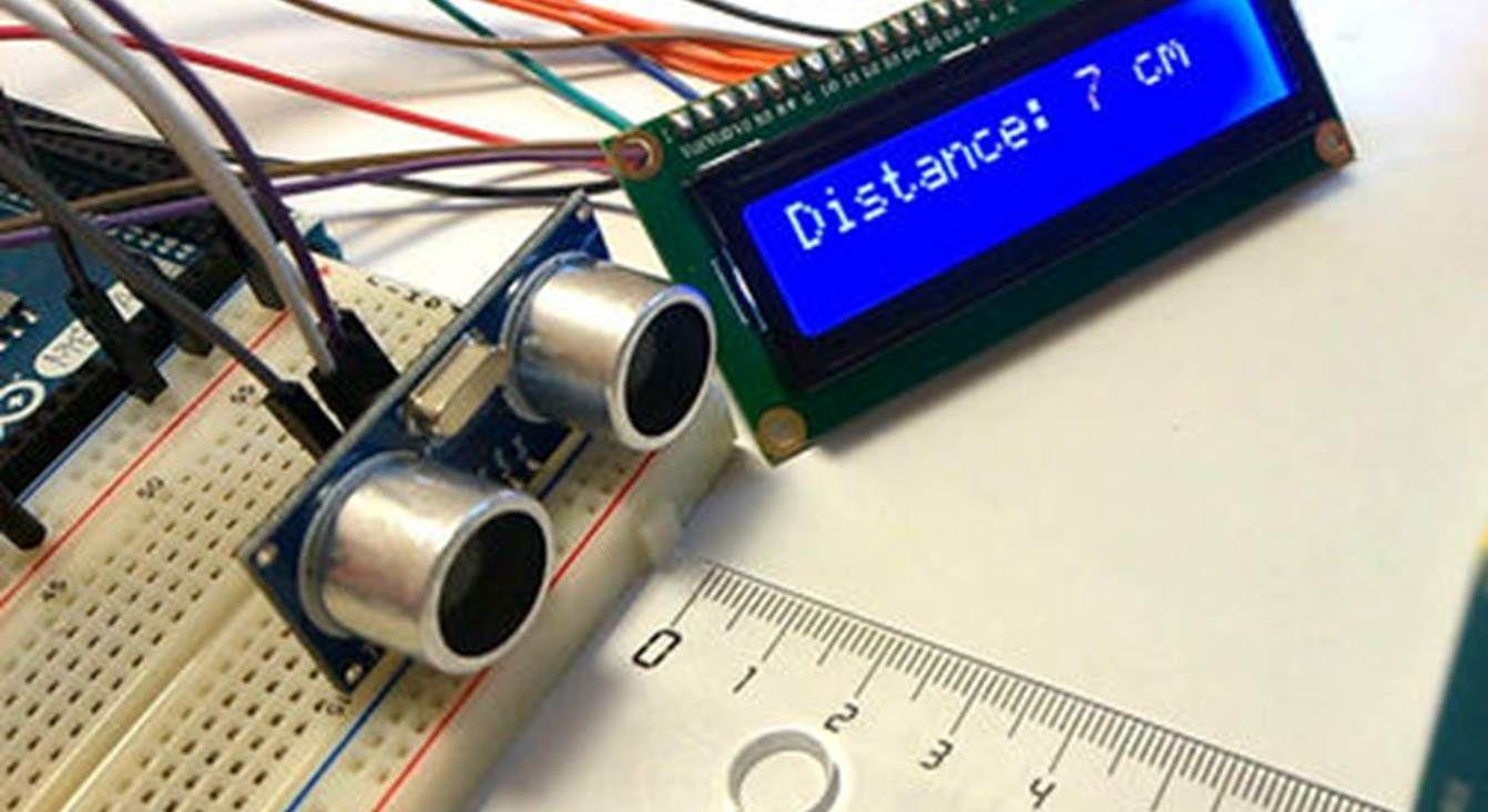 Connecting An Ultrasonic Sensor To An Arduino The Diy Life Arduino Arduino Projects Sensor