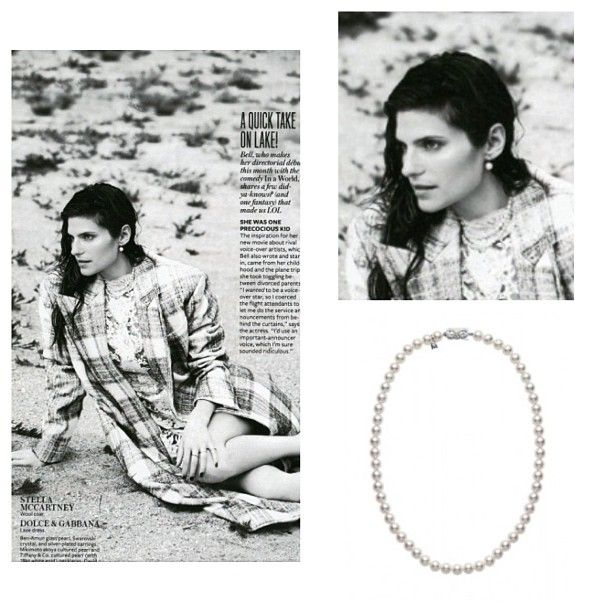 Mikimoto's Akoya cultured strand was featured in the September issue of Instyle.