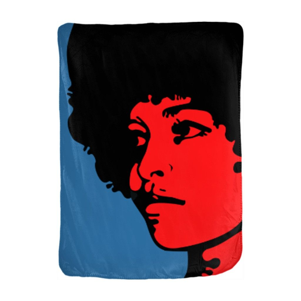 Angela Davis Velveteen Blanket. Who doesn't like snuggling under a soft, warm blanket? Now imagine that blanket with your favorite Chocolate Ancestor design all over it, and snuggling time just got better. Choose from four sizes and velveteen materials to create a blanket perfect for you. Facts: Angela Davis is an activist, scholar and writer who advocates for the oppressed. She has authored several books, including Women, Culture & Politics. Angela Davis, born on...
