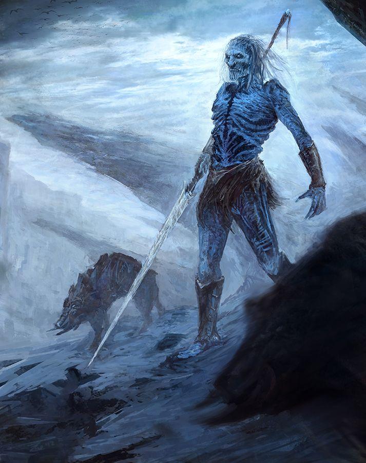 White Walker By Bzartt On Deviantart A R T Fogo E Gelo