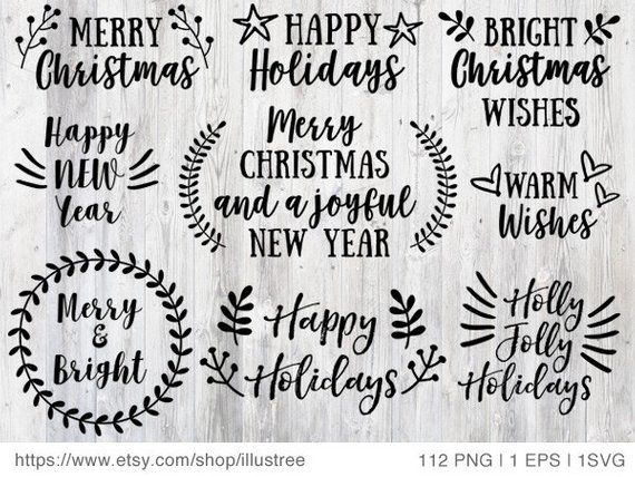 graphic relating to Printable Christmas Cards Black and White named 112 Xmas overlays, black and white Xmas clip artwork