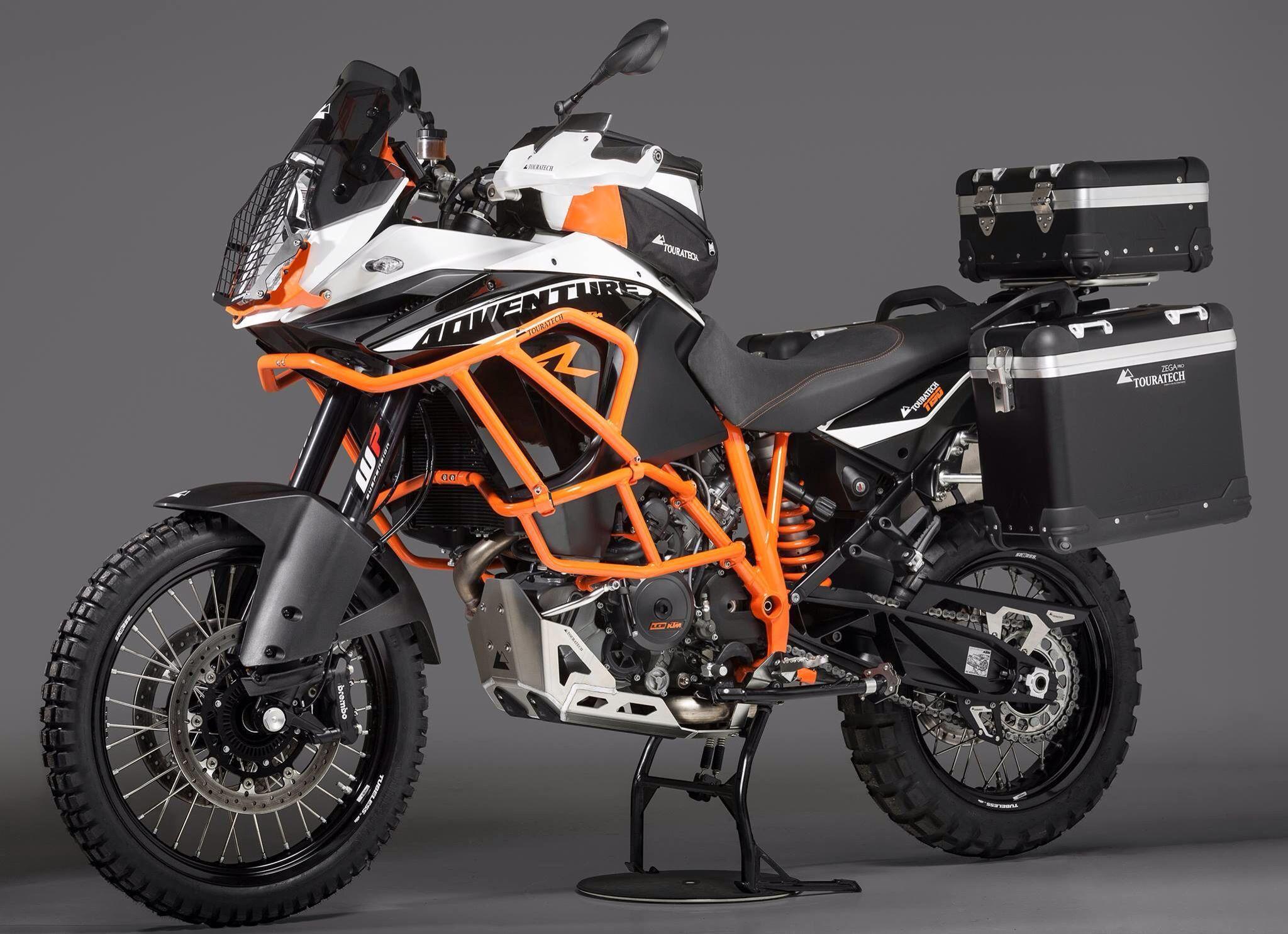 Ktm Stuffed Their 180 Hp Motor Into A Adventure Bike 155 Mph
