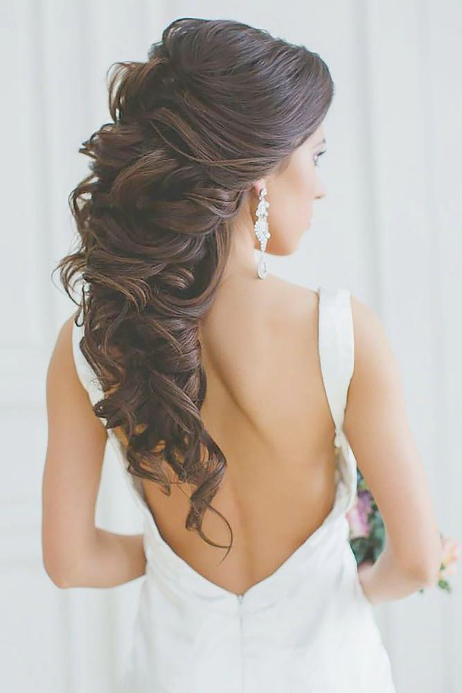 Wedding Hairstyles For Long Hair. Bridal Updo. Rose Bun till Simple Wedding Reception Hairstyles ...