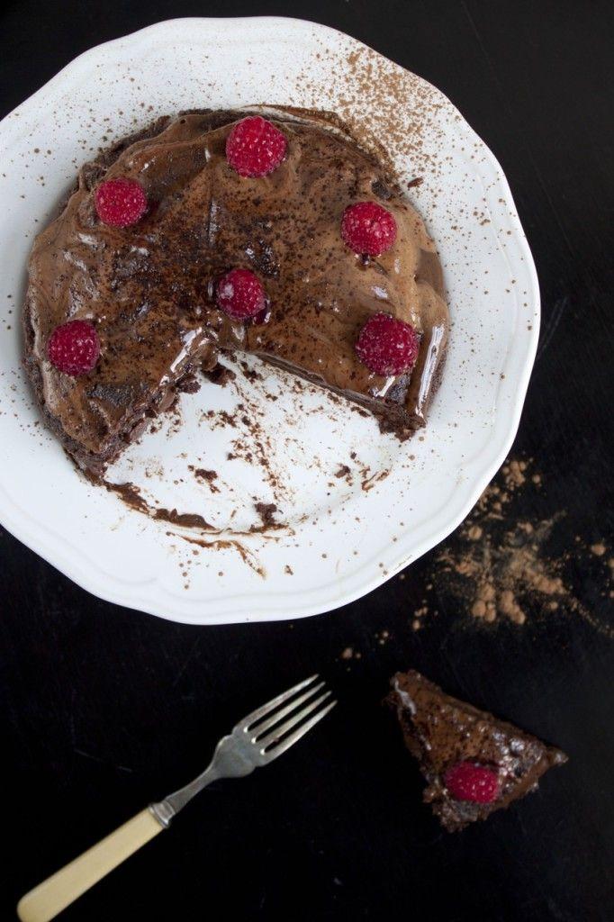 Schoko Karamell Torte ohne Zucker