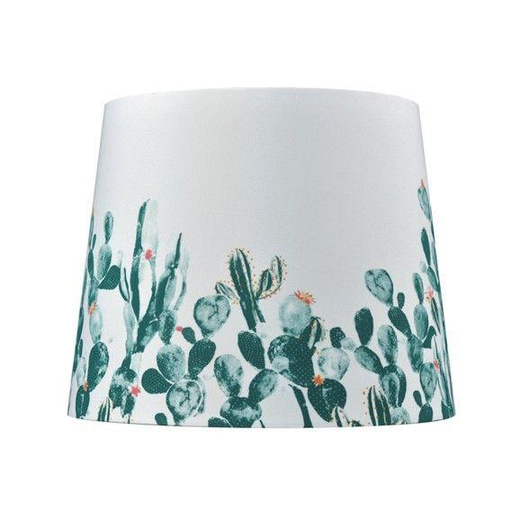 Stylischer Leuchtenschirm im Kaktus-Design - ein individueller Blickfang