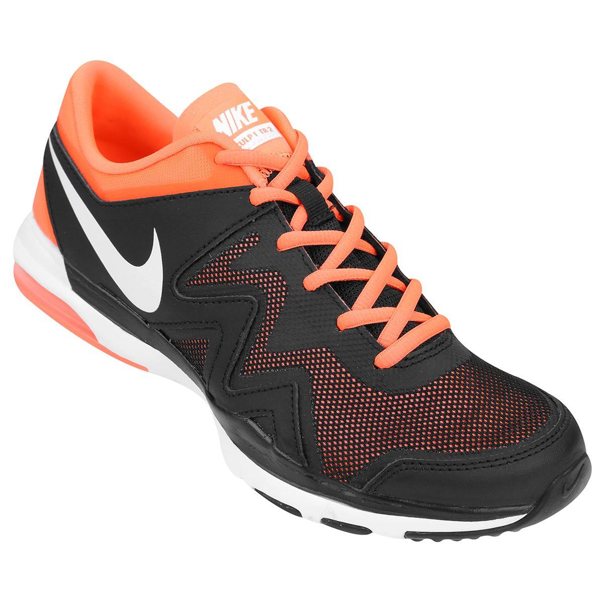 9e5f0c88a0 ... Zapatillas Nike Air Sculpt Tr 2 Negro e Naranja Netshoes ...