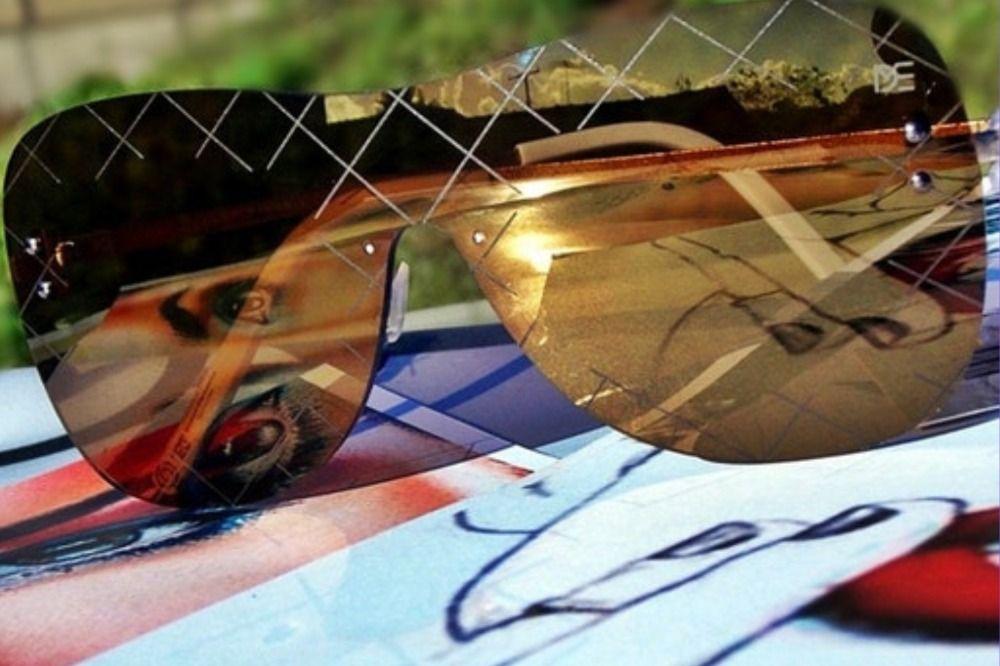 6e58d1e31 ÓCULOS DE SOL MASCARA DROP ME LENTE ÚNICA DOURADA - DP004D | Óculos ...