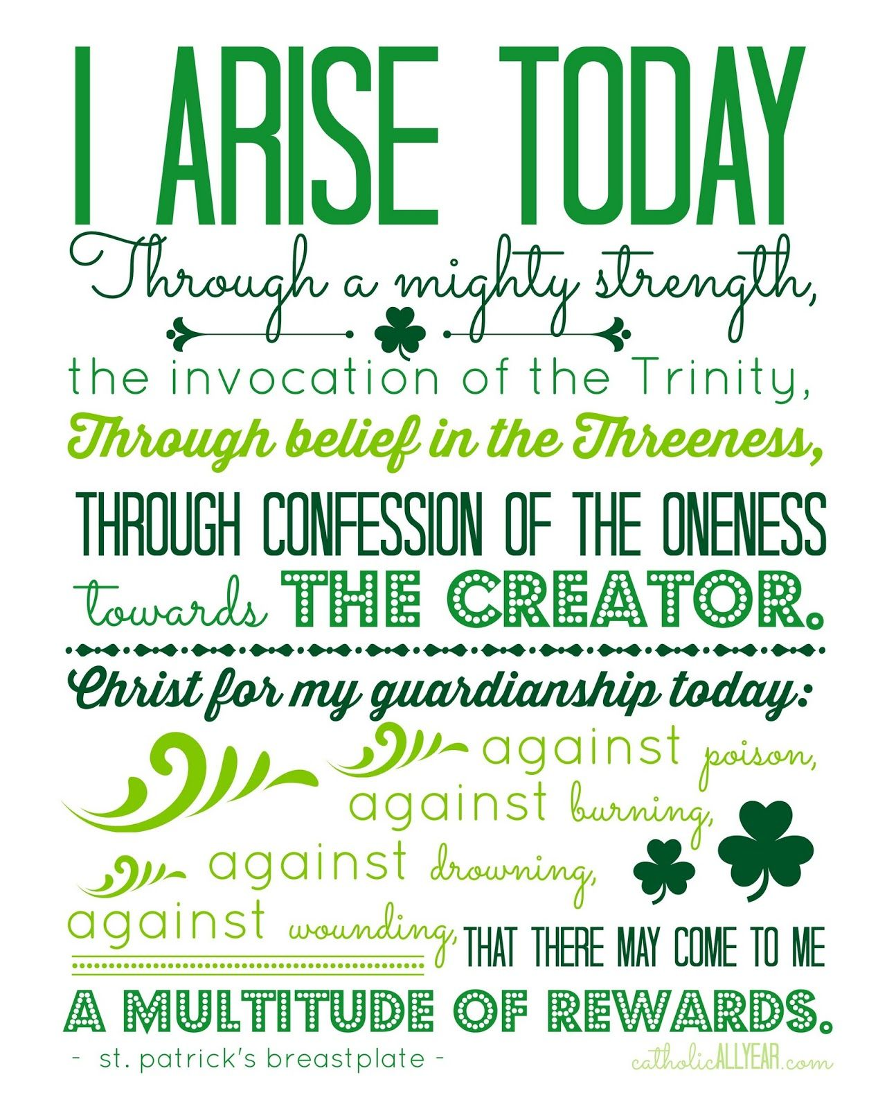 Idle Threats The Miracle Of Waffles St Patrick S Day Printables And A Winner