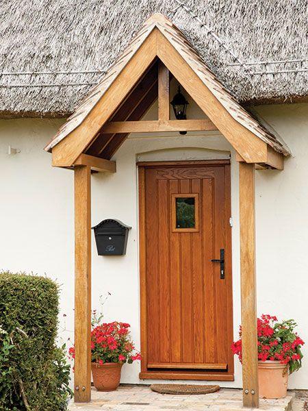 Open porch oak pillars designs uk google search oak or for Open porch