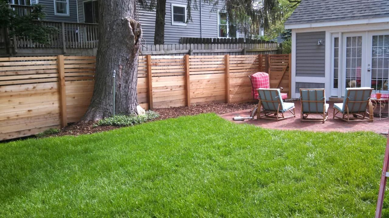 Custom cedar wood privacy fence in Grand Haven, Michigan. | FENCE ...
