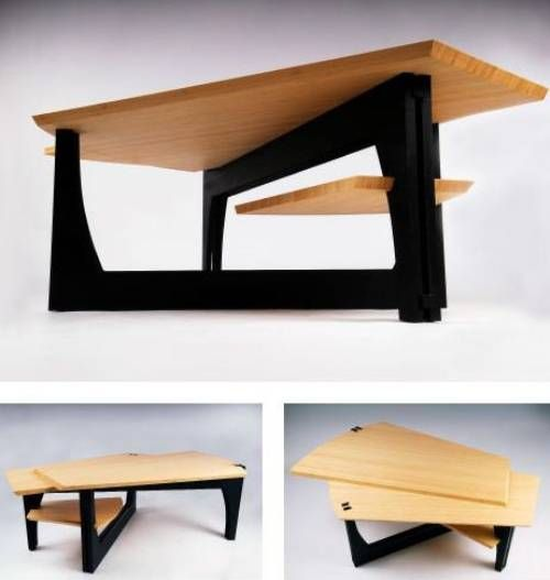Amazing Modern Wood Coffee Table Designs