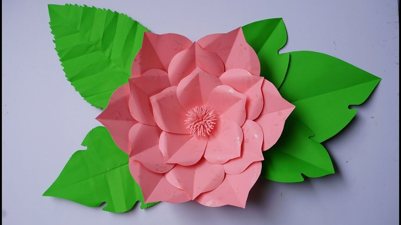 Paper Flower Backdrop How To Make Giant Paper Flowers For A