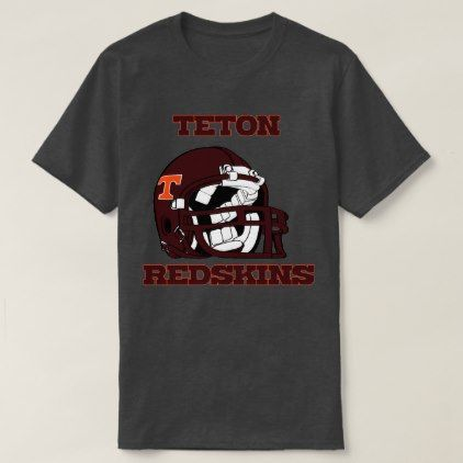 Teton Highschool Redskins Idaho Highschool Style Gift Idea Diy Unique Shirts