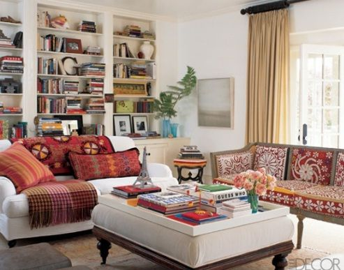 Amazing Ethnic Living Room Style With New Ideas Design