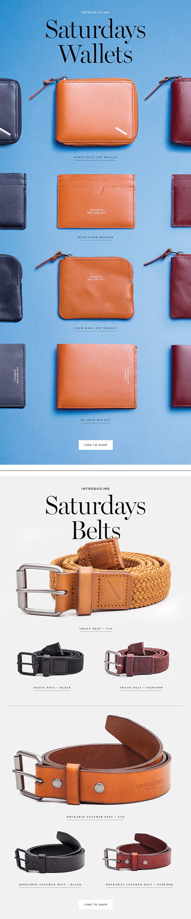 Saturdays NYC - New Accessories