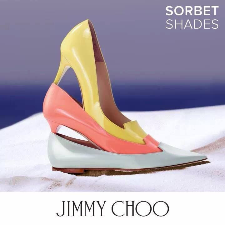 #ShoeAlert: Pastels for #JIMMYCHOO this #Spring2014