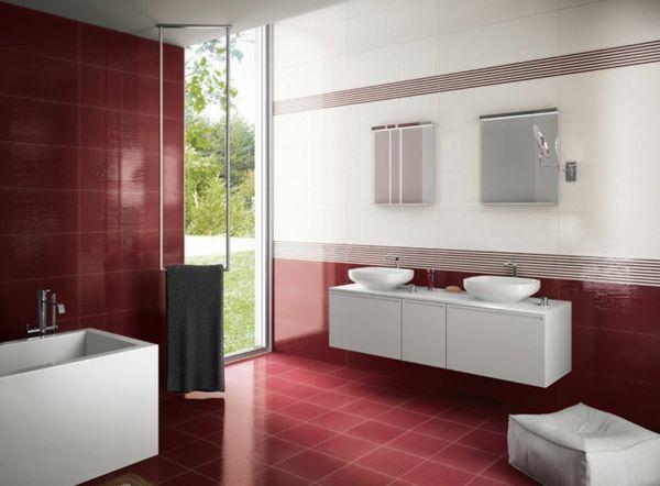 Badezimmer Beispiele ~ Badezimmer fliesen ideen fliesenfarbe badezimmer beispiele
