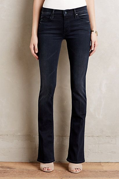 Mother Runaway Flare Jeans #anthropologie