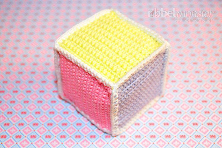 Crochet simple dados - patrón de ganchillo gratis - instrucciones ...