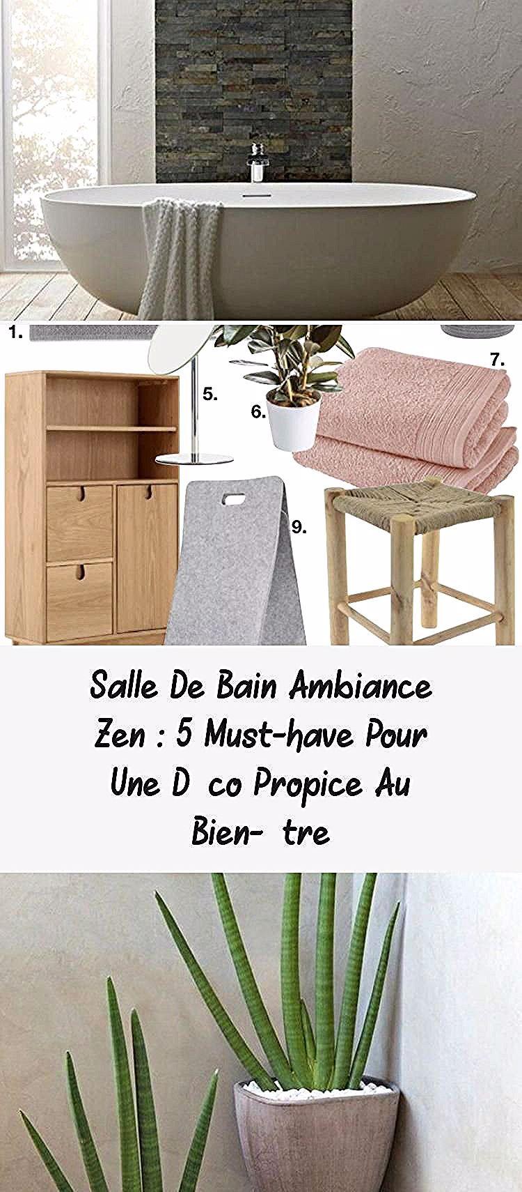 Salle De Bain Ambiance Zen 5 Indispensables Clem Around The Corner Meuble De Salle De Bain Double Lavabo Vasques Blanches Pet In 2020 Home Decor Home Single Vanity
