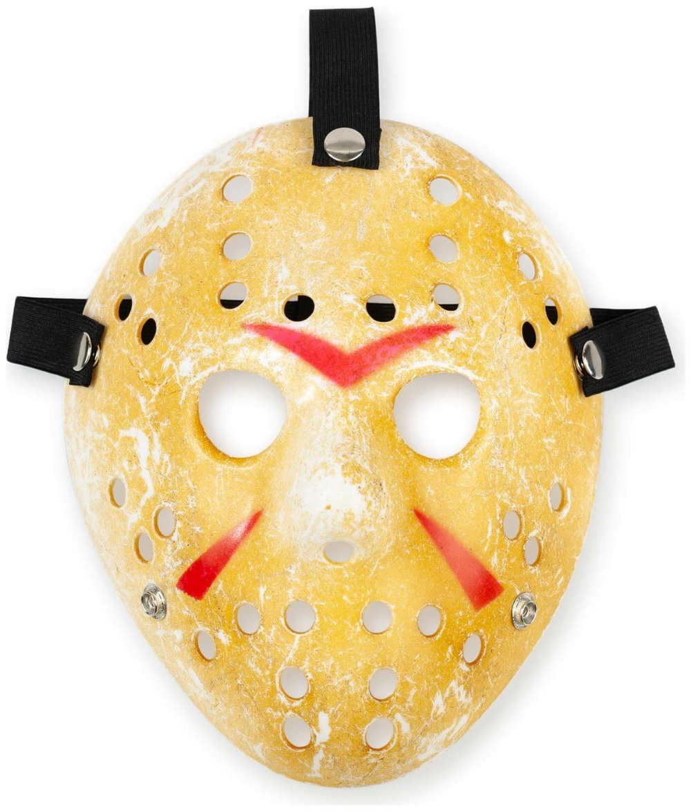 Friday The 13th Scary Costume Jason Voorhees Mask Classic Version Partybell Com Jason Voorhees Scary Costumes Jason Voorhees Halloween Costume