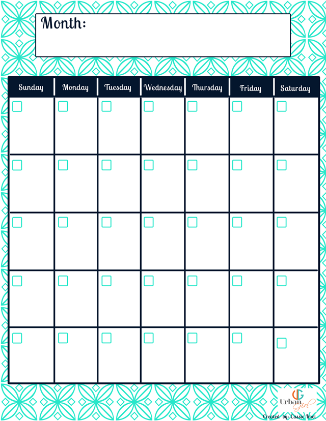 Free Printable Blog Planner  Printable Calendars Planners And