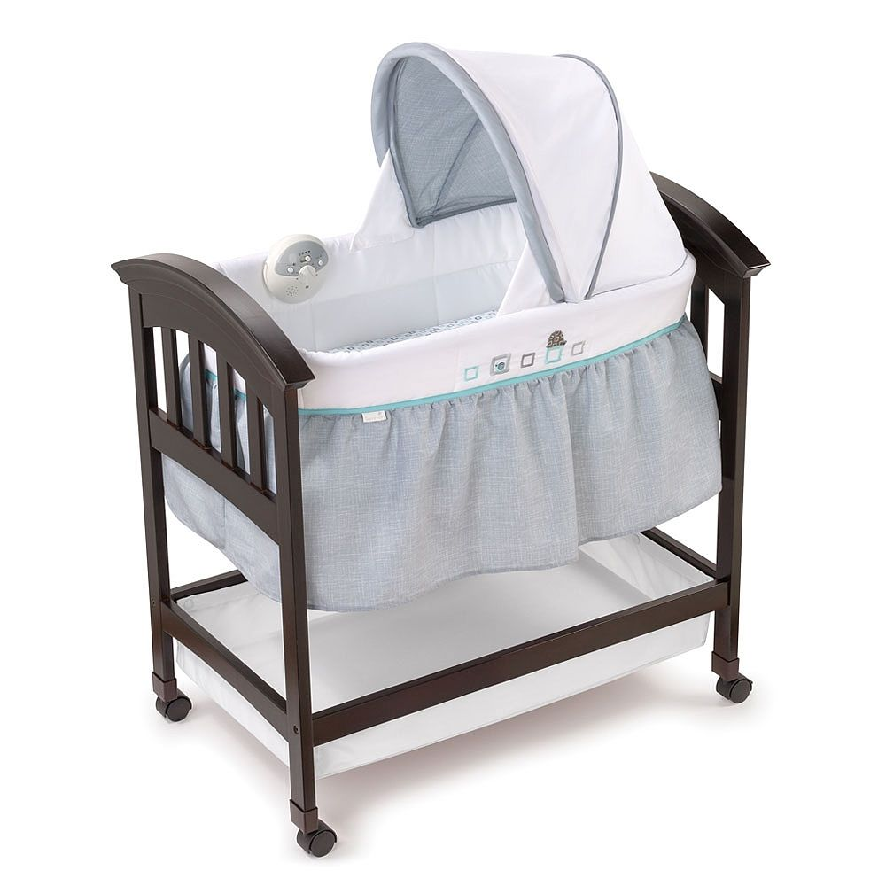 Toys R Us Costco Summer Infant Turtle Tale Wood Bassinet On