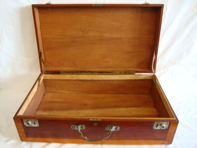 Wooden Storage Chest / Suitcase / Box ~Fantastic LARGE 28