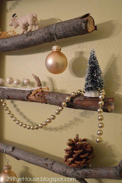 Alternative Christmas trees Idea Box by Miriam I Tree wall art