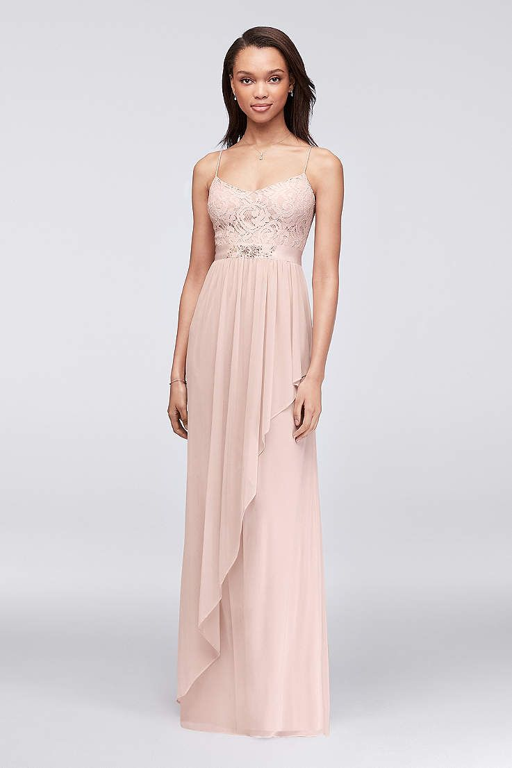 Browse davidus bridal collection of lace bridesmaid dresses in