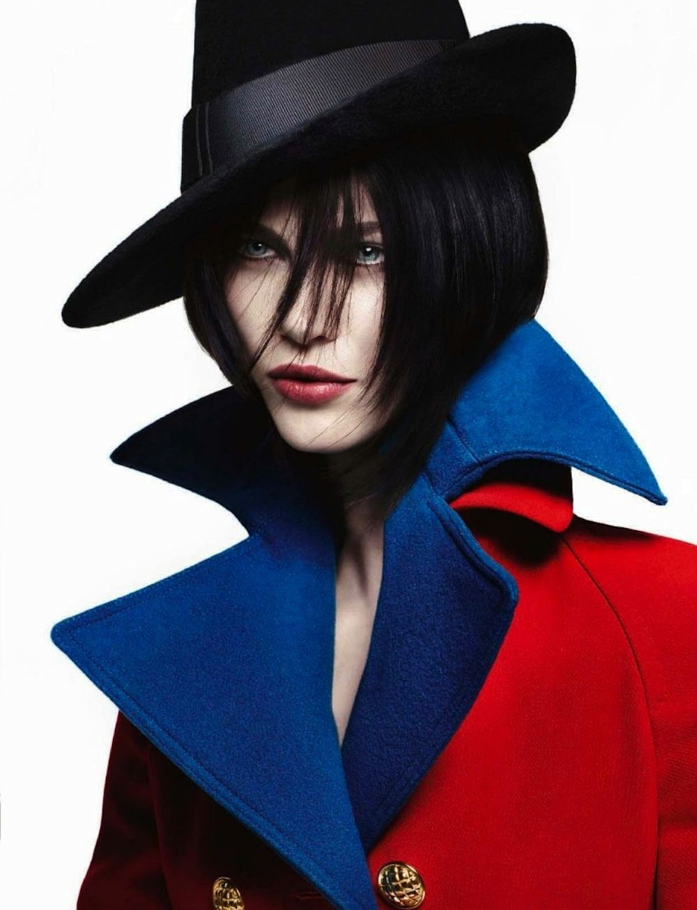 Grand chic: aymeline valade by solve sundsbo for vogue italia july 2012