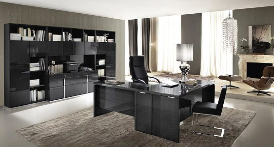 alf monte carlo home office collection in high koto finish deco