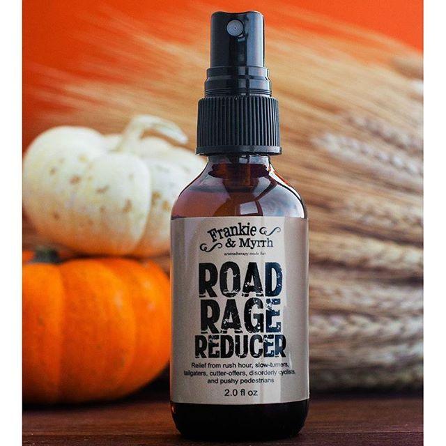 Frankie Myrrh Aromatherapy Made Fun Road Rage
