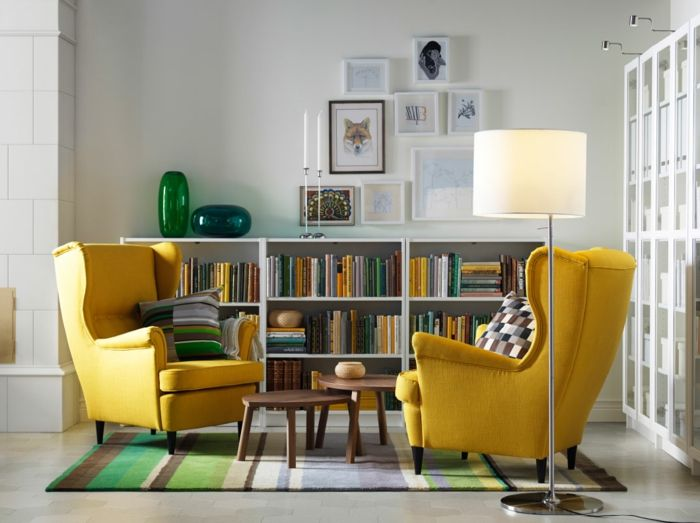 1001 ideas sobre decoraci n de salones para espacios for Salones modernos pequenos