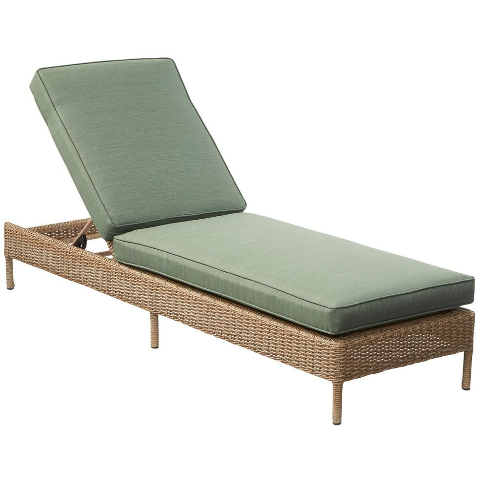 home depot lounge chairs where to rent hampton bay lemon grove wicker outdoor chaise with surplus cushion d11230 c the