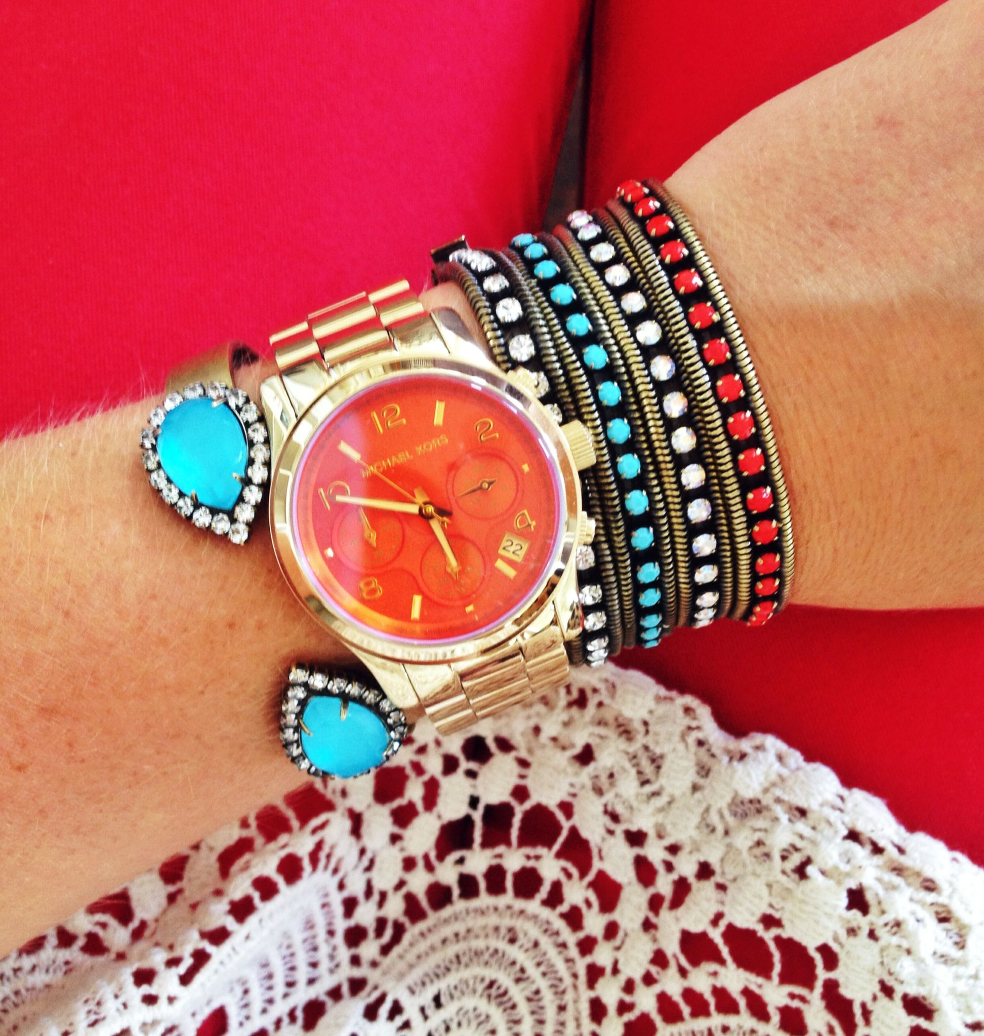 Michael kors x loren hope jewelry pinterest michael kors