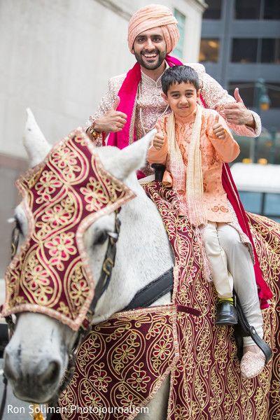 Indian groom riding traditional baraat horse httpswww indian groom riding traditional baraat horse httpsmaharaniweddings junglespirit Image collections